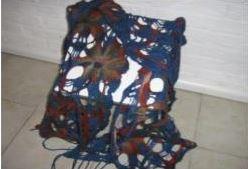 Dini Keizer, opengewerkte sjaal stola